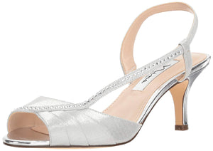 NINA Women's Silver Cabell Heeled Sandal - Bhe Accessories