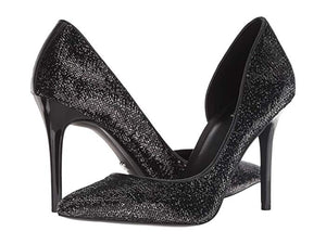 MICHAEL By Michael Kors Claire Black D'Orsay Pump - Bhe Accessories
