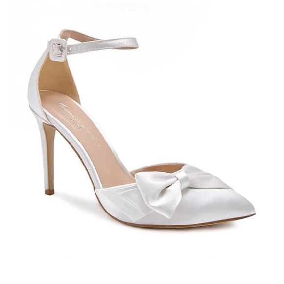 Pink By Paradox Channah High Heel Ivory Two Part Court - Bhe Accessories