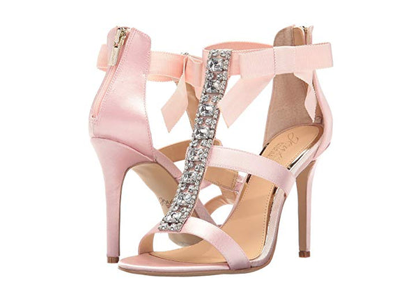 Jewel By Badgley Mischka Pink Henderson Sandal - Bhe Accessories