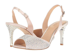 Jewel By Badgley Mischka Champagne Tanner Sandal - Bhe Accessories