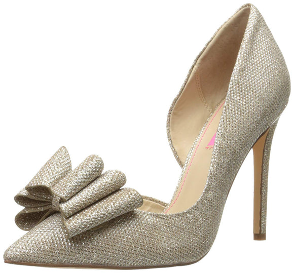 Betsey Johnson Women's PRINCE d'Orsay Pump - Bhe Accessories