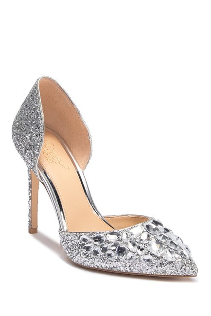 Jewel Badgley Mischka Upton Embellished Pump - Bhe Accessories