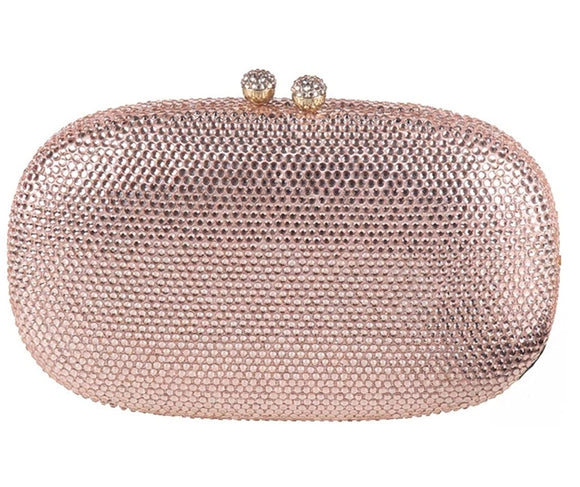 Simple Design Rosegold Clutch - Bhe Accessories