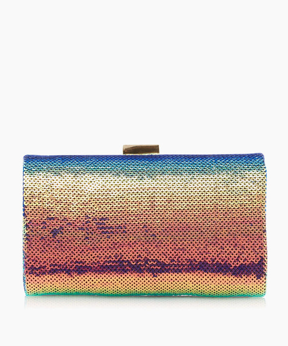 Dune London Britneey - Multi Covered Frame Clutch Bag