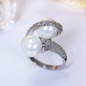 Handmade Pearls Ring Jewellery - Bhe Accessories