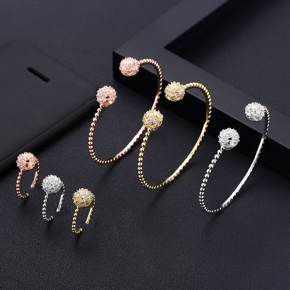 Round shape Bangle Ring Sets - Bhe Accessories