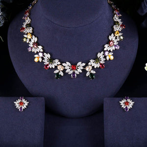Bhe Accessories 2 pc Bridal Jewelry Sets For Women Wedding Party - Bhe Accessories