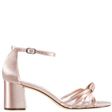 Nidiah Pearl-Rose Crystal Satin