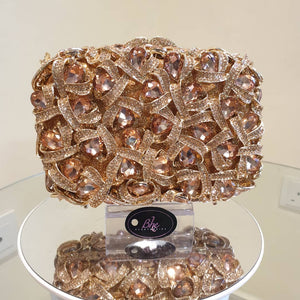 Luxury Crystal Clutch - Bhe Accessories
