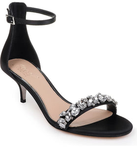 Jewel Badgley Mischka Dash Embellished Halo Strap Sandal - Bhe Accessories