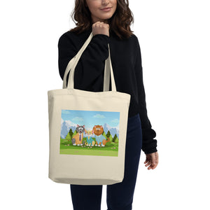 Eco Tote Bag - Cat Friends