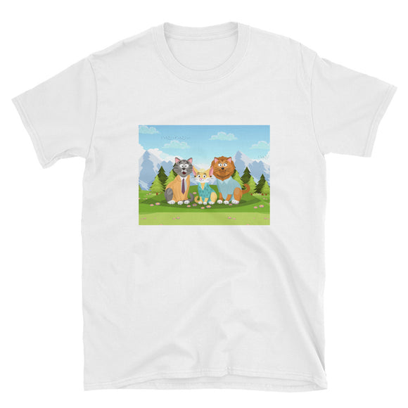 Cat Friends T-Shirt