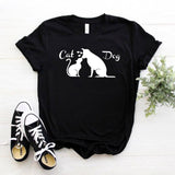 I Love Cats and Dogs - Women's T-Shirt
