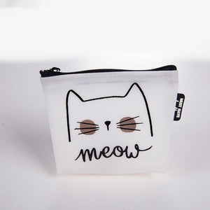 Cat themed coin purses, pouches. Gift ideas.