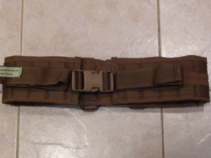 4 Inch Wide Padded Belt