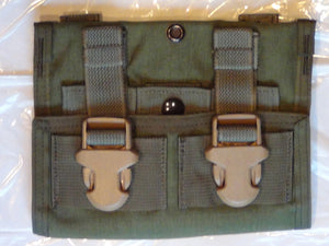 NEW EAGLE INDUSTRIES TRIPLE(3×1) 40MM GRENADE POUCH OLIVE DRAB GREEN DF-LCS MOLLE