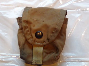 MOLLE II USMC HAND GRENADE POUCHES COYOTE BROWN