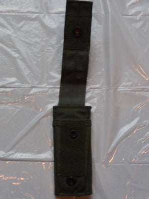 OLIVE DRAB GREEN KNIFE SHEATH FOR GERBER MULTIPLIER, EXCELLENT CONDITION!