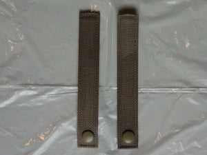 NEW MOLLE II ATTACHMENT STRAPS,TAN 499 SEW-ON