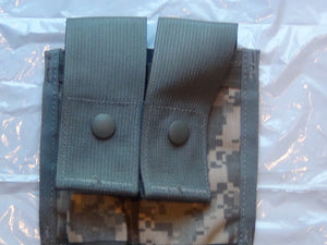 NEW MOLLE II DOUBLE 40MM HIGH PYROTECHNIC POUCH, ACU