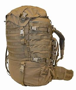 EAGLE INDUSTRIES  FILBE USMC Main Pack Coyote Brown with Frame and Waist Belt GOOD