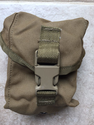 NEW USMC MILITARY MOLLE II COYOTE 100 ROUND UTILITY POUCH SAW GUNNER POUCH