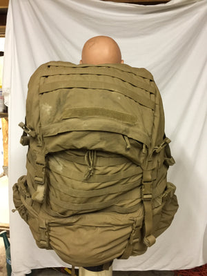 USMC FILBE Coyote complete BackPack rucksack field pack+WET WEATHER BAG & Pouches