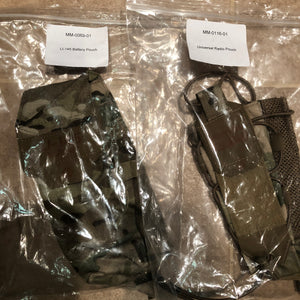 Black Diamond Multicam LI-145 Battery & Universal Radio Pouch - DEVGRU SEAL SOF