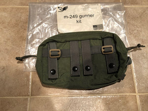 New Eagle Industries DFLCS Horizontal Utility Pouch OD ~((M -249 Gunner Kit)