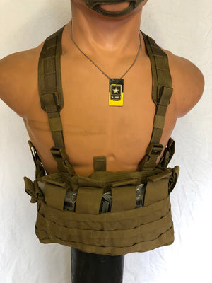 USMC Chest Rig TAP PANEL MOLLE Coyote Brown