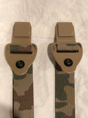 CUSTOM MULTICAM MOLLE BUCKLE, MALE SHOULDER QUICK RELEASE REPLACEMENT STRAP