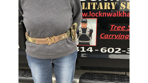 LOCKNWALK TACTICAL GUN BELT