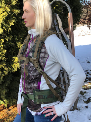 THE BUTTON BUCK TREESTAND HARNESS
