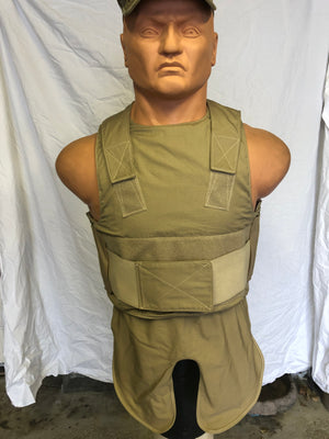 """NEW IN BAG"" Safariland Armor & Plate Carrier Bulletproof Vest  LVBAV SIZE LARGE"