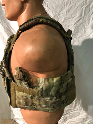 NEW T3 Geronimo 2 Plate Carrier / multicam W/ Flotation kit -Size Large