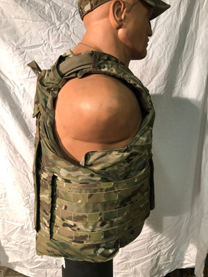 "GEN 2 IOTV MULTICAM PLATE CARRIERS W/3A SOFT ARMOR INCLUDED ""LARGE INVENTORY"""