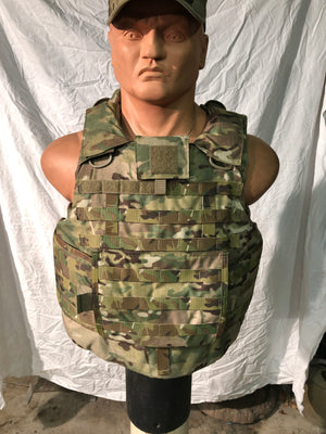 "GEN 3 IOTV MULTICAM PLATE CARRIERS W/3A SOFT ARMOR INCLUDED ""LARGE INVENTORY"""