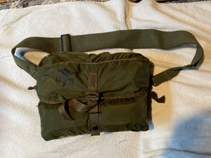 "Post Vietnam ERA Medic Bag With Supplies, Aid Bag, Medical ""LOOKS UNISSUED"""