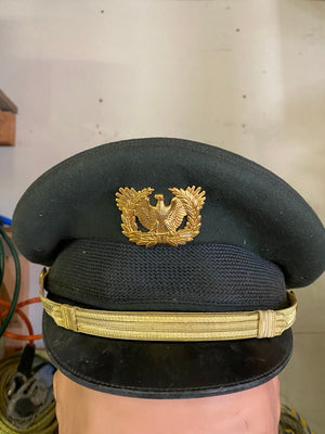 WW 2 Princeform DeLuxe Army Military Officers Dress Uniform Cap Hat