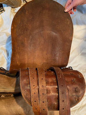 WW 2 Vintage Collector Japanese Military Officers Saddle