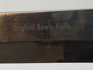 GERMANY HUNTING KNIFE Original Bowie Knife SOLINGEN 443 (ORIGINAL SCABBARD)