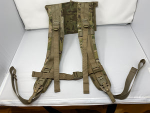 MOLLE II Rucksack Shoulder Straps Frame Multicam OCP (PROFESSIONALLY REPAIRED)