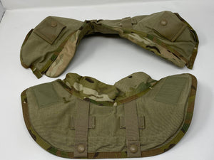 MULTICAM IOTV FRONT AND REAR YOKE/COLLAR ASSEMBLY  W/3A Soft Armor Includedd