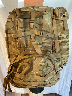 Large MultiCam Backpack Panel ,Radio Carrier Set Up - DEVGRU SEAL SOF, RANGERS