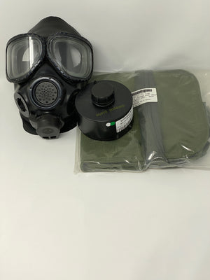 3M FR-M40-30 CBRN FULL FACE PIECE RESPIRATOR W/FILTER & CARRIER POUCH