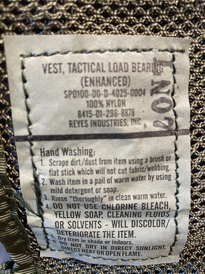ENHANCED TACTICAL LOAD BEARING VEST