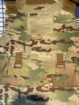 KDH MULTICAM ATPC-SPEAR PLATE CARRIER W/3A SOFT ARMOR SIZE LARGE