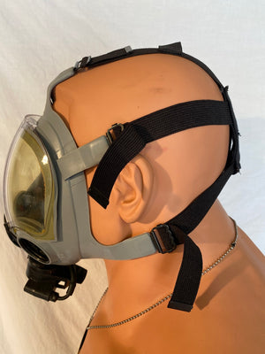 """NEW"" NAVY & AIR FORCE MCU-2A/P PROTECTIVE GAS MASK SIZE LARGE"