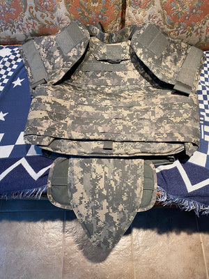 """NEW IN BAG""Improved Outer Tactical Vest (IOTV), GEN II, Complete, ACU SIZE SMALL"